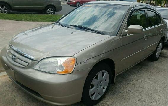 Honda Civic 2002 Americano En Perfectas Condiciones Sano