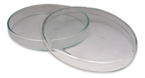 Imagen 1 de 2 de Caja De Petri Vidrio 60 X 15mm  Material Laboratorio