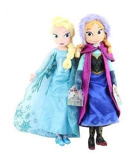 Disney Frozen Princess Anna & Elsa Plush Set 16 \ Muñeco D