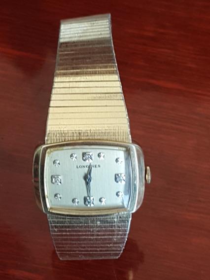 Reloj Longines De Cuerda Chapa De Oro