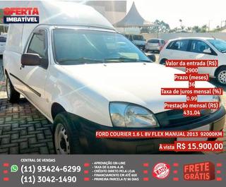 Ford Courier 2013 1.6 L Flex 2p