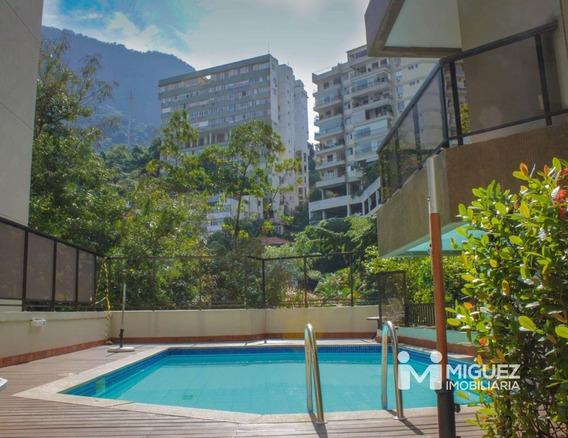 Cobertura À Venda Em Fonte Da Saudade, Rio De Janeiro - Rj - 8900