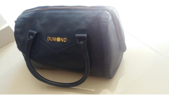 Dumond, Bolsa Clássica De Mão Em Azul Original