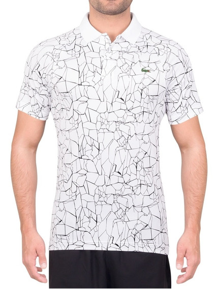 Camisa Polo Lacoste Novak Djokovic Special Dh9456 Branca