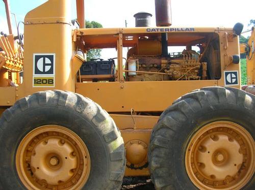 Motoniveladora Cat 120b 1986
