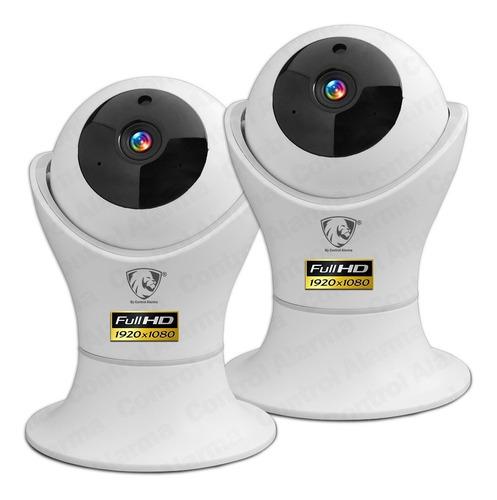 Imagen 1 de 10 de 2 Camaras Wifi Ip Fhd Preset 360 Casa Seguridad Vigilancia