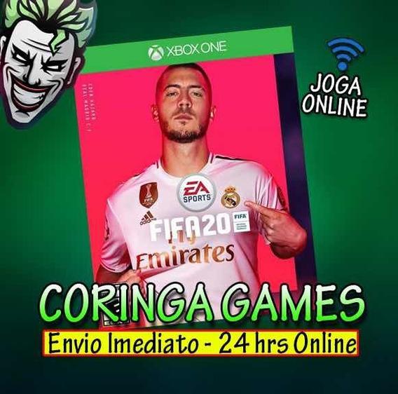 Fifa 20 Xbox One Mídia Digital + 2 Brindes