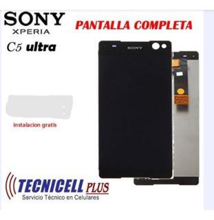 Pantalla Sony C5 Ultra Original Garantia