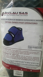 Zapato Post Operatorio Talla L Y M