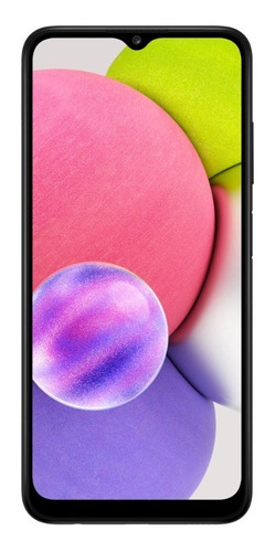 Imagem 1 de 8 de Smartphone Galaxy A03s Tela 6.5 64 Gb 4 Gb Ram Preto Samsung