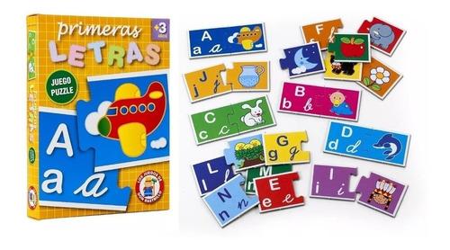 Primeras Letras Juego Puzzle Ruibal Full