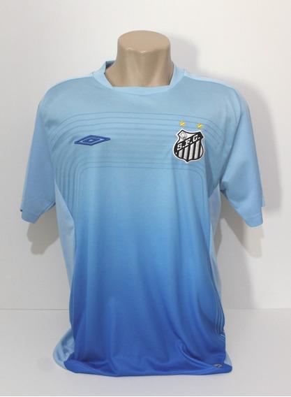 Camisa Original Santos 2009 Treino Azul Umbro