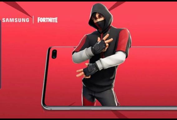 Resgate Skin Fortnite Samsung S10