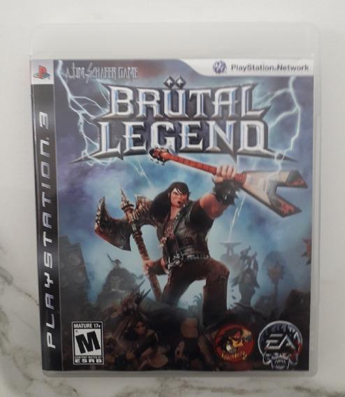 Jogo Brutal Legend Ps3 - Mídia Física - Usado - Playstation