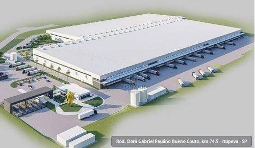 Imagem 1 de 2 de Galpão Modular Para Locação, Condomínio Fechado, Distrito Industrial, Itupeva. - Ga0762