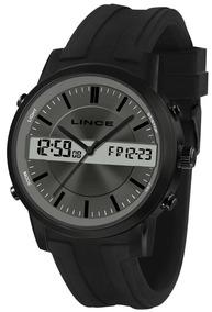 Relógio Masculino Preto Lince Map4489s G1px