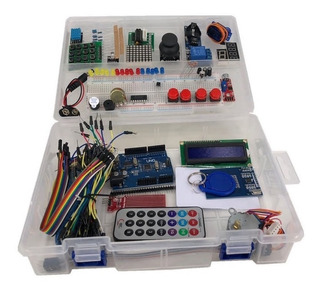 Starter Kit Arduino Uno R3 Robotica Muy Completo 44 Items