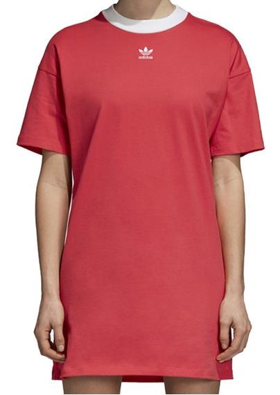 Vestido Originals Trifolio Mujer adidas Dh3195