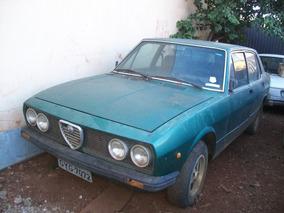 Alfa Romeo Sl Modelo 2300 P/ Restauro Completo Com Docks