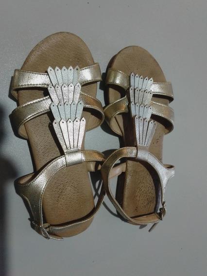 Zapatillas Nine West Doradas
