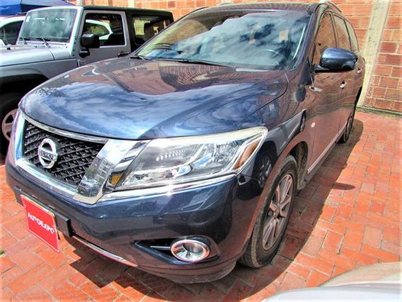 Nissan Pathfinder Advance Aut 3.5 Gasolina 4x4 7 P.