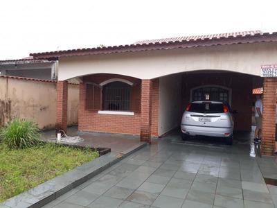 Casa Para Venda Em Itanhaém, Jardim Das Palmeiras, 3 Dormitórios, 1 Suíte, 1 Banheiro, 4 Vagas - It513