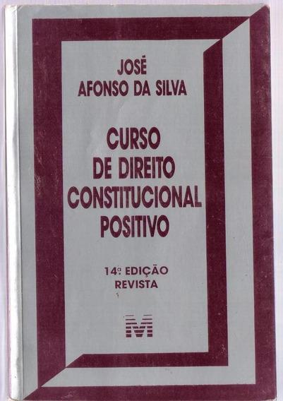 Curso De Direito Constitucional Positivo - José Afonso Da S.