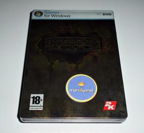Bioshock Cx Em Metal ¦ Jogo Pc Original Usado ¦ Mídia Física