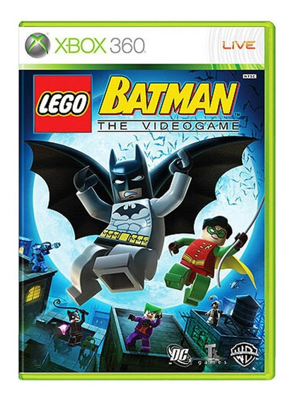Lego Batman The Video Game - Xbox 360 - Usado