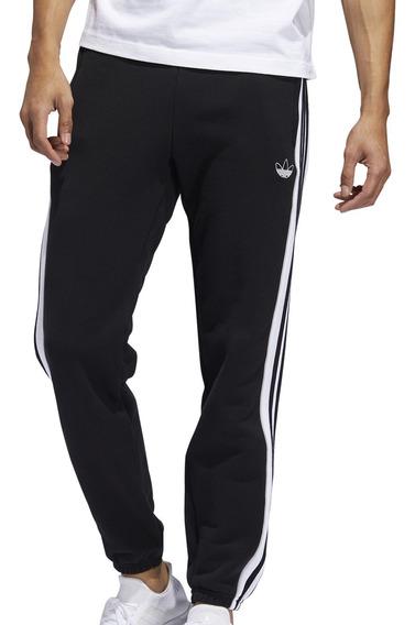 Pantalon adidas Originals Moda 3 Stripe Panel Hombre Ng/bl