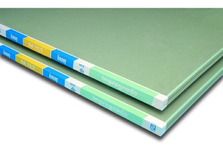 Placa De Yeso Verde Antihumedad 12,5m Revestimiento Consulte