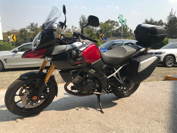 Moto Suzuki V-strom 1000 Modelo 2014