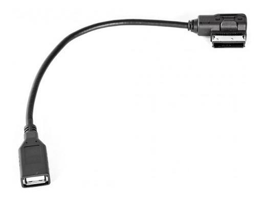 Cable Adaptador Mdi A Usb Para Vw Volkswagen Audi Sonocar