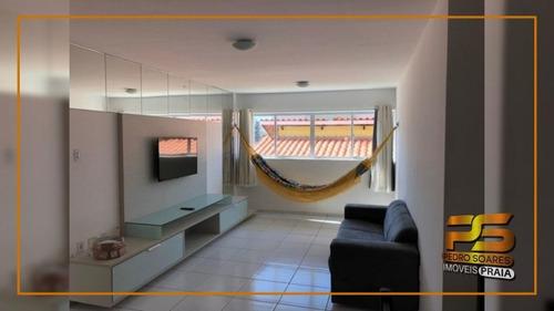 Imagem 1 de 8 de Apartamento Com 3 Dormitórios À Venda, 98 M² Por R$ 245.000 - Intermares - Cabedelo/pb - Ap5131