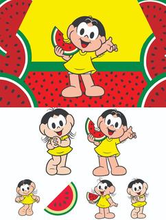 Kit Display Magali 2 Peças De 70cm + 4 De Mesa + Painel (1)