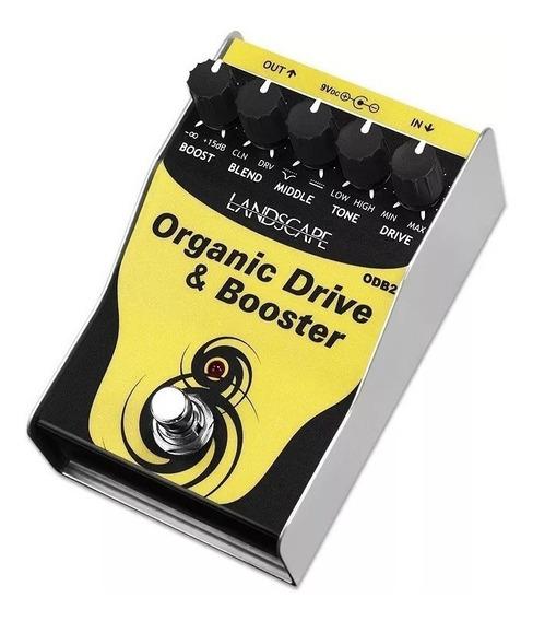 Pedal Landscape Organic Drive Boost Odb2 Overdrive Guitarra