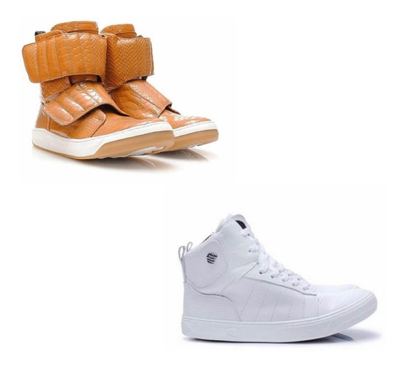Tênis Hardcore Footwear Sneaker Couro - Bota Juju Salimeni