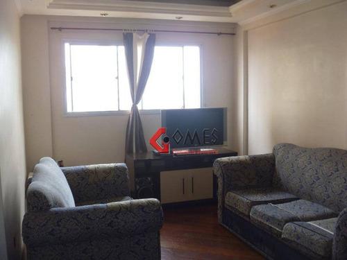 Apartamento Com 3 Dormitórios À Venda, 75 M² Por R$ 275.000,00 - Centro - São Bernardo Do Campo/sp - Ap1633