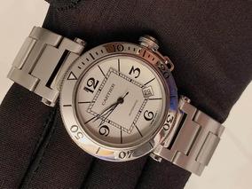 Cartier Pasha Seatimer 40mm , Todo De Aço , Completo!!