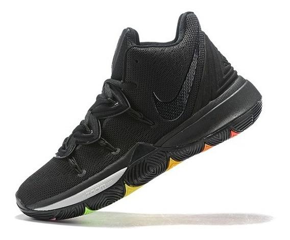 Tênis Nike Kyrie 5 Neon Sole Masculino - Preto