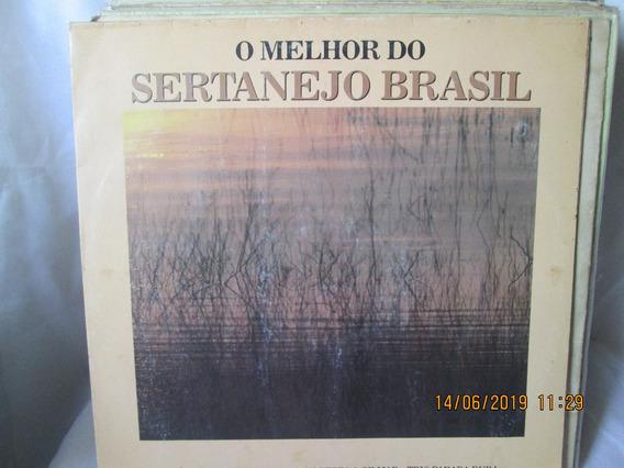 Lp Col O Melhor Do Sertanejo Brasil 1988 Alan E Aladim Jayne