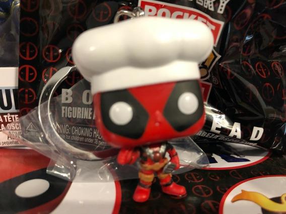 Pop! Keychain: Marvel: Deadpool Funko Llavero - Chef