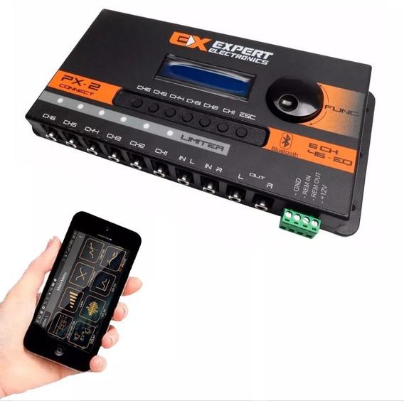 Processador Crossover Expert Px-2 Conect Bluetooth Px2 Eq 6c