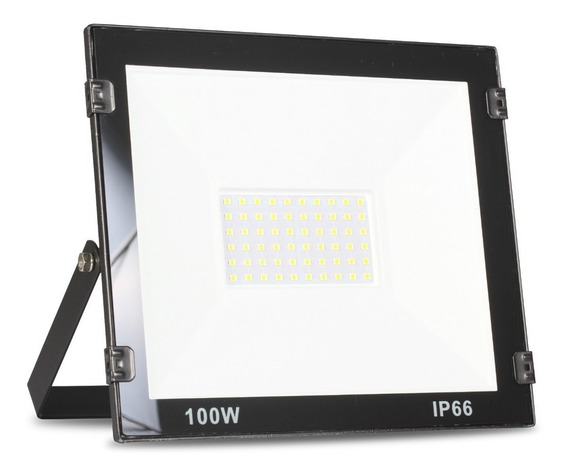 Refletor Led 100w Branco Frio Bivolt Holofote Prova D