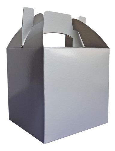 Cajita Feliz Cfz1-p Color Plata X 10u Packaging Plateado