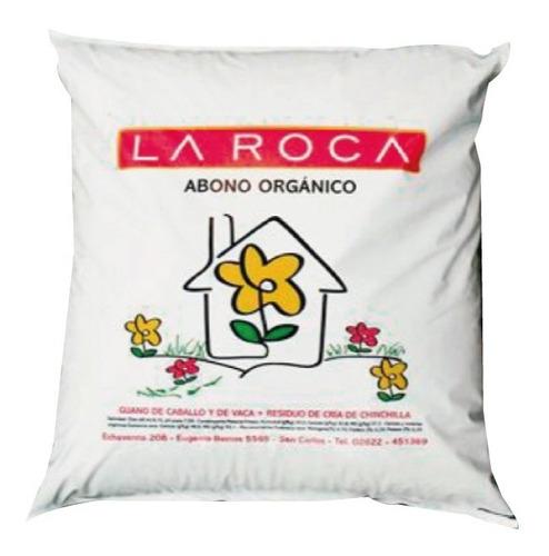 Abono Orgánico - 10kg - La Roca. Certificado Por Inta