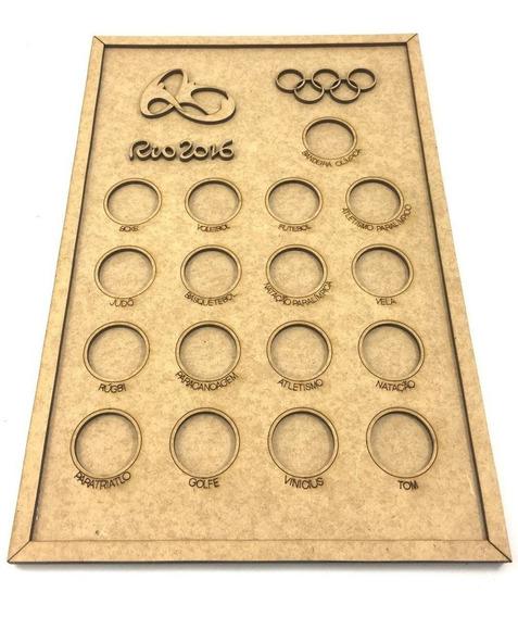 Quadro De Moedas - Olimpíadas Rio 2016
