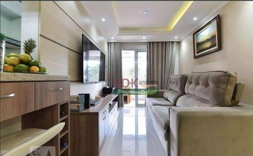 Imagem 1 de 17 de Apartamento Com 2 Dormitórios À Venda, 65 M² Por R$ 530.000 - Centro - Diadema/sp - Ap8670