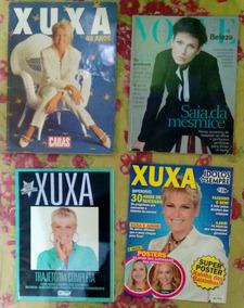 Lote Revistas Xuxa Caras 40 Anos Vogue Idolos