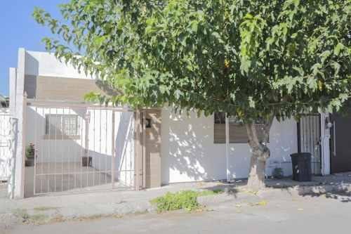 Casa De Una Planta, Excelente Ubicación Con Bodega En El Patio.